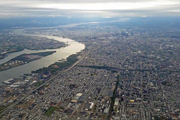 Blick auf Philadelphia