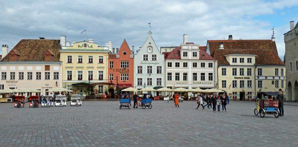 Der Marktplatz von Tallinn / Estland