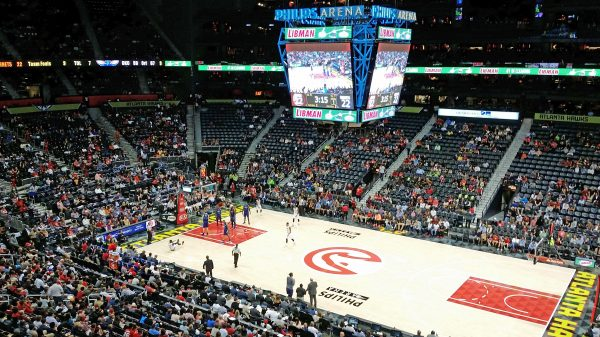 Basketball: Atlanta Hawks gegen die Charlotte Hornets
