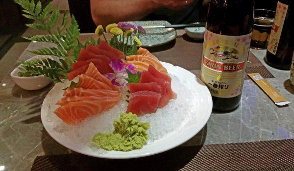 Sashimi in Peking