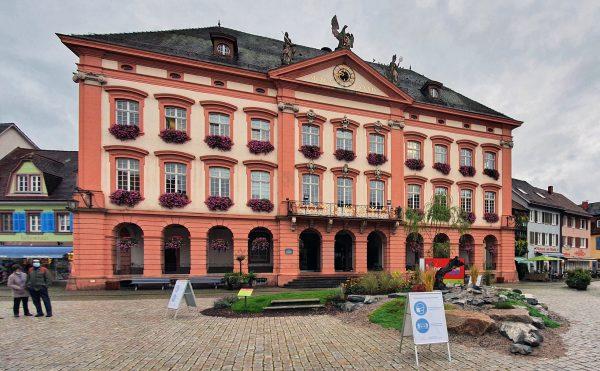 Das Rathaus von Gengenbach