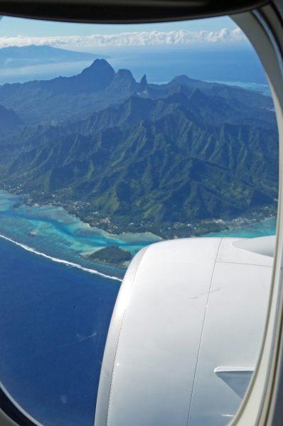 Flug über Mo'orea
