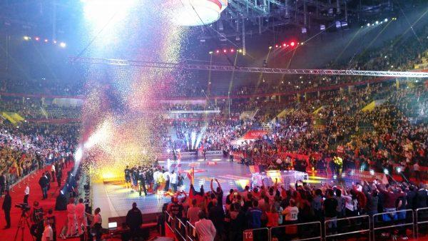 Handball Finale Deutschland - Spanien