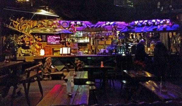 Ein Pub in Krakau