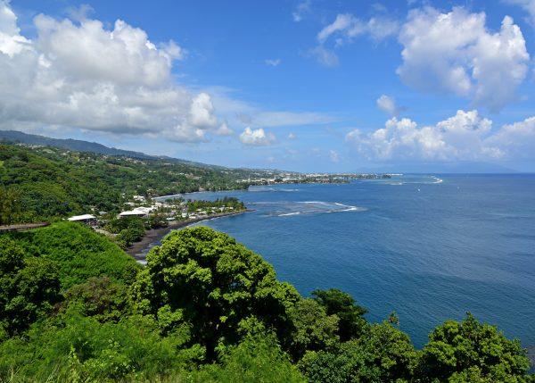 Blick vom One Tree Hill in Tahiti
