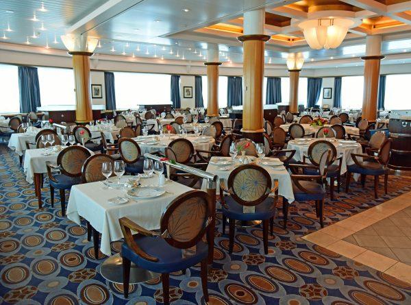 Das Restaurant 'L'Etoile' der MS Paul Gauguin