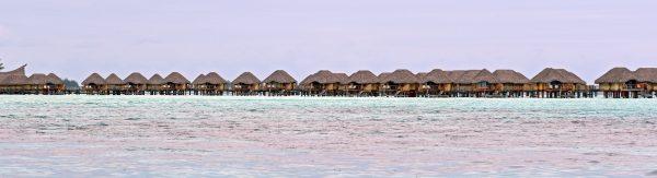 Überwasser-Bungalows in Bora Bora