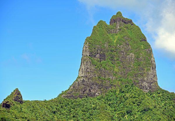 Die Bergwelt von Mo'orea