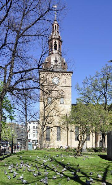 Die Domkirke in Oslo