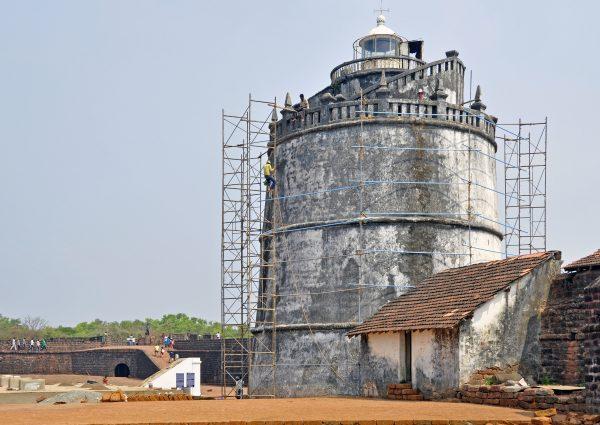 Fort Aguada, Goa, Indien