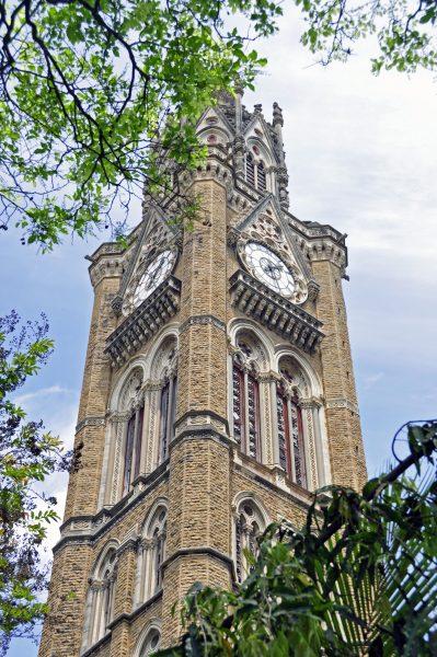Ein Gebäude in Mumbai