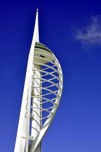 Das Wahrzeichen Portsmouth (Spinnaker Tower)
