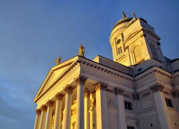 Der Dom, das Wahrzeichen von Helsinki