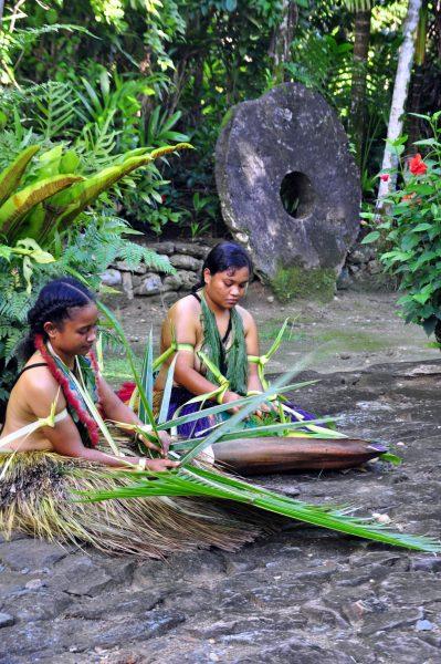 Einheimische auf Yap