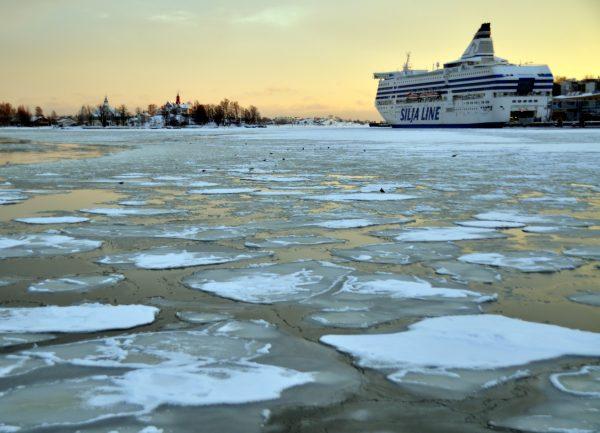 Im Hafen von Helsinki
