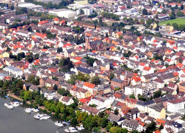 Blick auf Griesheim
