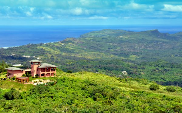 Ausblick über Saipan