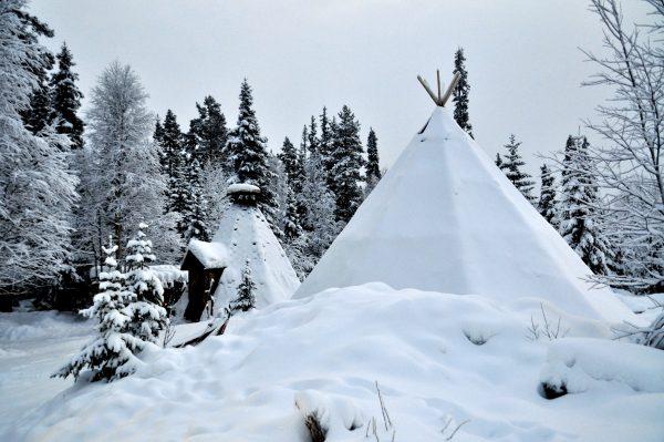 So wurde früher gewohnt im Norden von Finnland