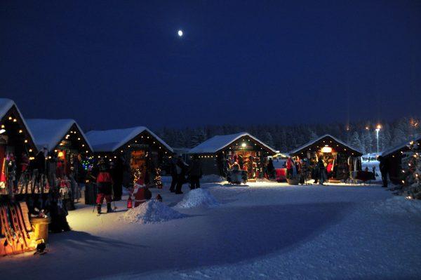 Der Weihnachtsmarkt von Levi