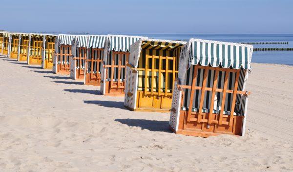 Der Strand von Kölpinsee auf Usedom