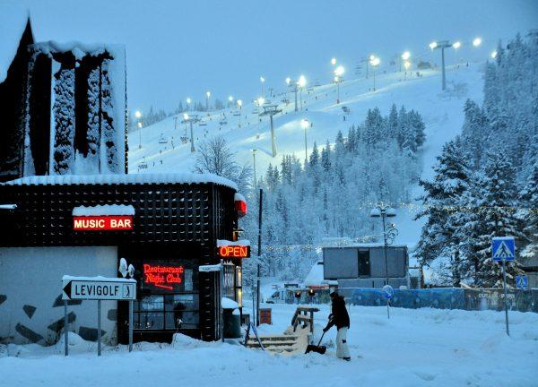 Nord-Finnland im Winter