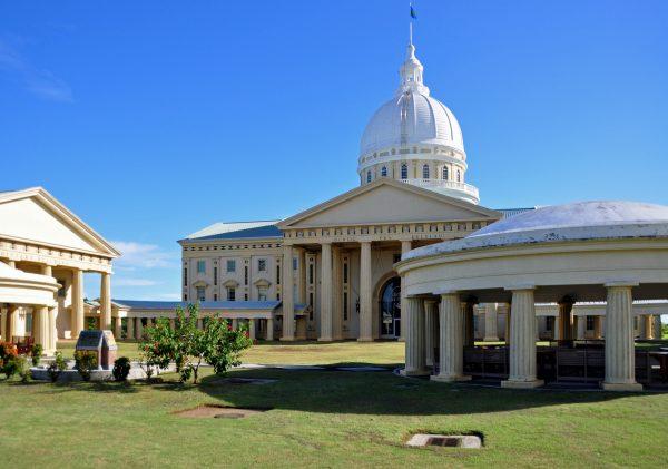 Die neue Hauptstadt Melekeok von Palau