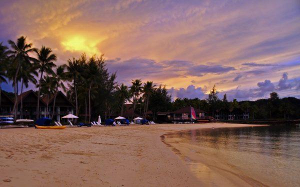 Sonnenuntergang in Mikronesien
