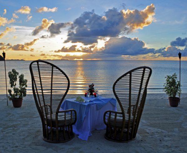 Nobel Essen im Palau Pacific Resort, Palau