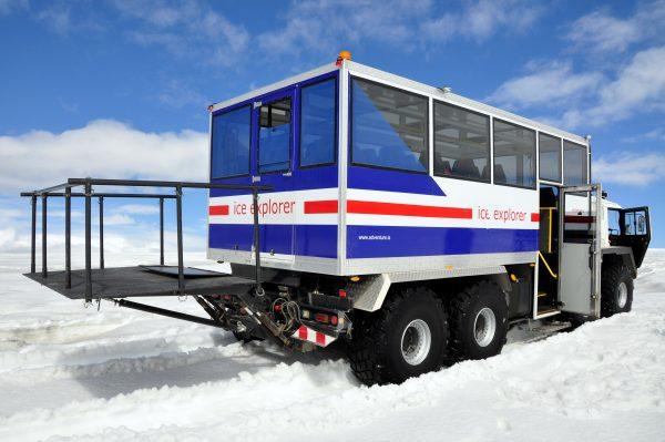 Auf zum Langjökull Gletscher