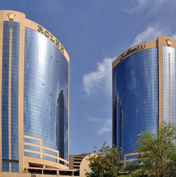 Twin Towers Complex Dubai (Rolex Tower)