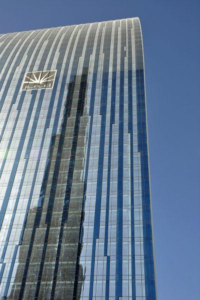Burj Khalifa gespiegelt
