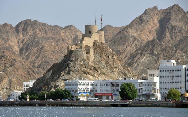 Ein Fort in Muttrah