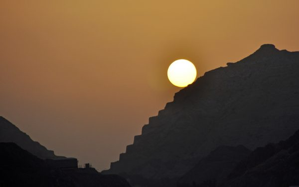 Abends im Oman