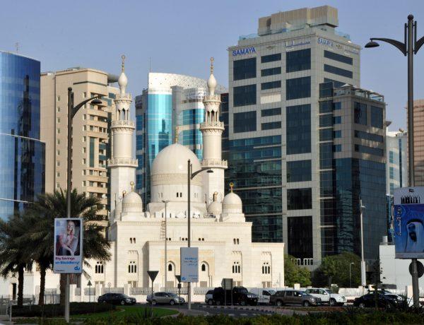Ein Stadtbild von Dubai