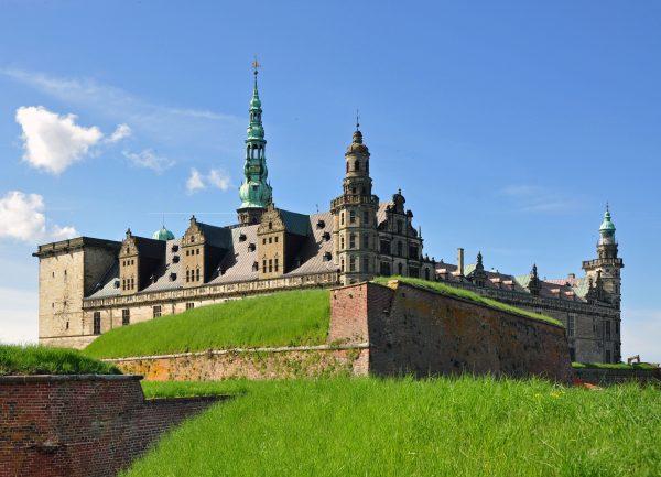 Schloss Kronborg, eine Festung in Helsingør (Dänemark) und Schauplatz von Hamlet