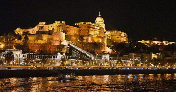 Der Burgpalast in Budapest