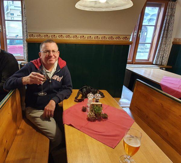 Zinni im Gasthaus Weiße Rose in Weißenkirchen