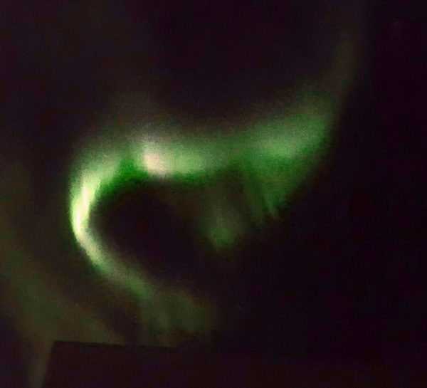 Nordlichter, Flughafen Kangerlussuaq