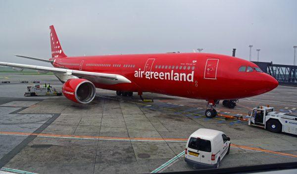 Air Greenland A330, Flughafen Kopenhagen