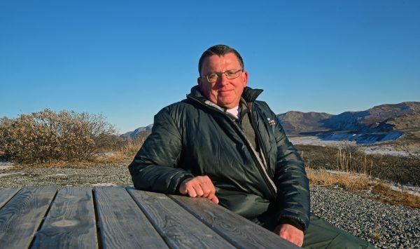 Zinni in der Nähe vom Flughafen Kangerlussuaq