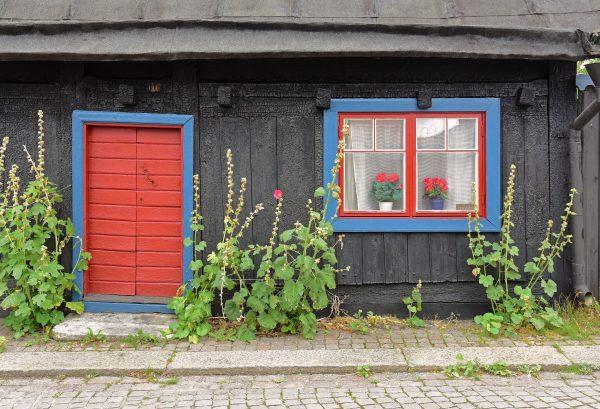 In der Altstadt von Visby, Gotland