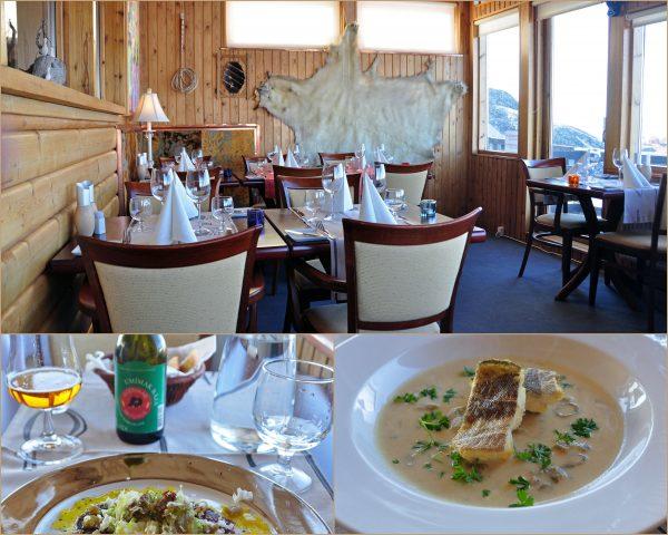 Das Restaurant Mamartut in Ilulissat