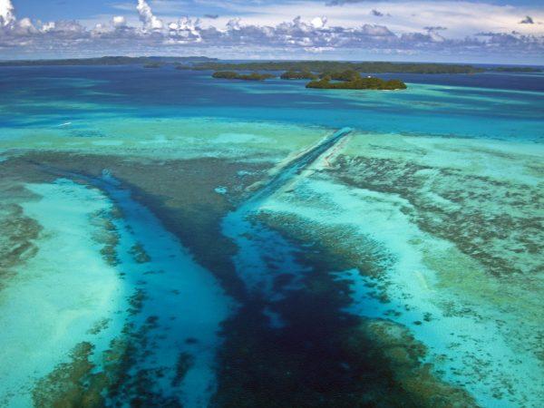 Der German Channel, Palau (Bild ist nicht von mir, Genehmigung liegt vor)