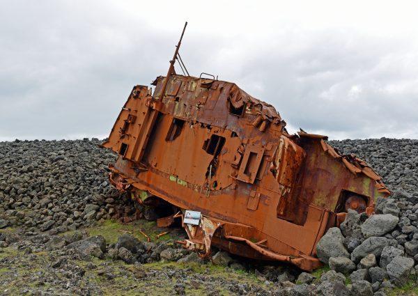 Der Schiffsfriedhof von Grundavik