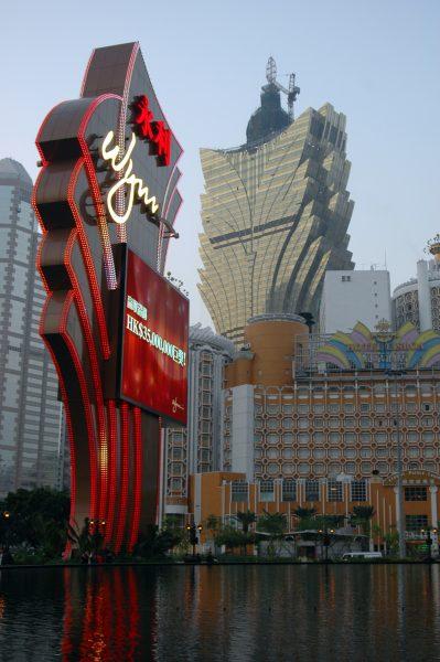 Zockerparadies Macau am Tag