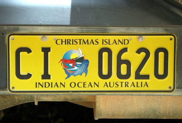 KFZ-Kennzeichen von Christmas Island
