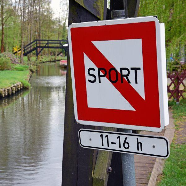 Kein Sport im Spreewald