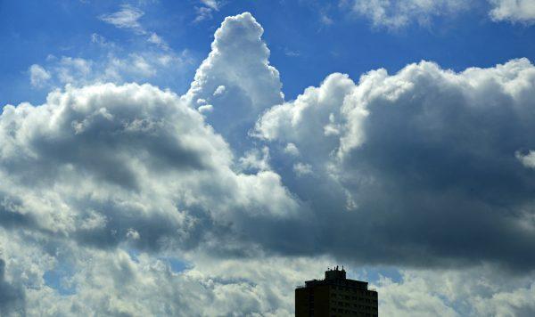 Der Himmel über Kiel