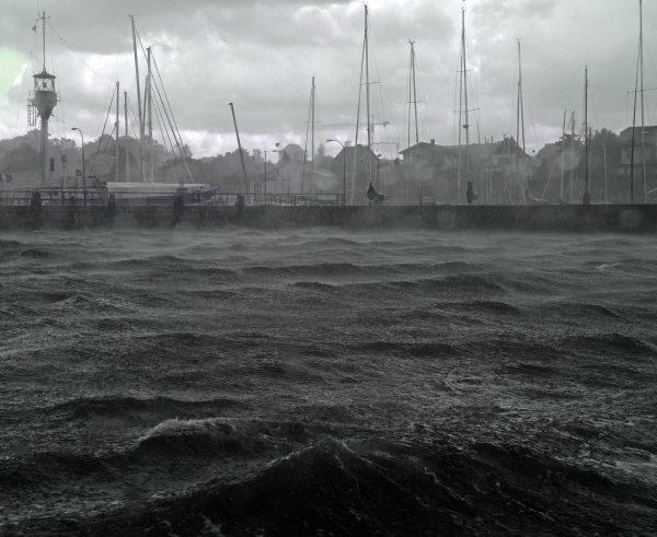 Unwetter in Kiel