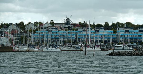 Der Yachthafen von Laboe
